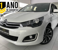 Citroën C4 Lounge AUT  S TURBO - Branca - 2016/2017