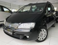 Fiat Idea HLX  - Preta - 2006/2007