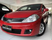 Nissan Tiida 1.8 SL - Vermelha - 2010/2011
