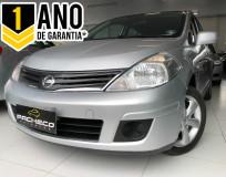 Nissan Tiida 1.8 S - Prata - 2011/2012