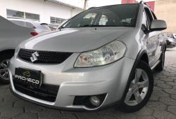 Suzuki SX4 4WD - Prata - 2010/2010