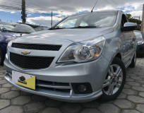 Chevrolet Agile LTZ - Prata - 2011/2011