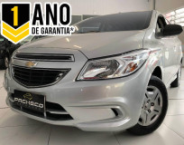 Chevrolet Onix LT 1.0 - Prata - 2014/2015