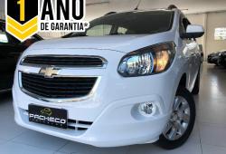 Chevrolet Spin 1.8 AT LTZ - Branca - 2016/2016