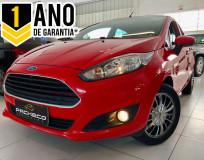 Ford Fiesta HA 1.5L S - Vermelha - 2013/2014