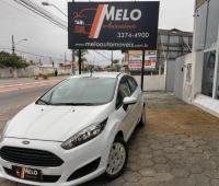 Ford Fiesta 1.5 S 16V - Branca - 2014/2015