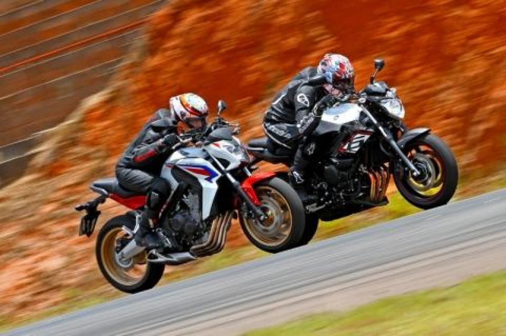 Honda CB 650F VS Yamaha XJ6 N