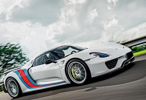 Porsche 918 Spyder -  Rubens Barrichello