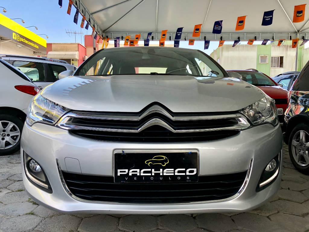 Citroën C4 Lounge EXCLUSIVE 1.6 THP - Prata - 2017/2017